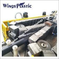 Buy cheap Double Wall Corrugated Plastic PE PVC Pipe Manufacturing Machine For Sale from wholesalers