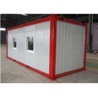Buy cheap Custom Made Flat Pack Container House 20 Foot Container Home with PVC Floor from wholesalers