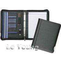 Buy cheap Black Leather Ring Binder from wholesalers