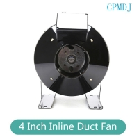 Buy cheap 4 Inch Ducted Fan Motor Steel Round Exhaust Inline Duct Fan For Hydroponics Grow Tent Ventilation from wholesalers