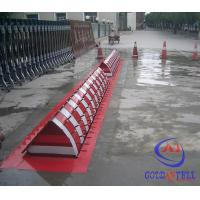 Traffic Remote Control Security Hydraulic Road Blocker A3 Steel With Rust Proof Lacquer Manufactures