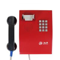 Buy cheap Metal Enclosure Public Safety Vandal Resistant Handset Telephone with Keypad from wholesalers