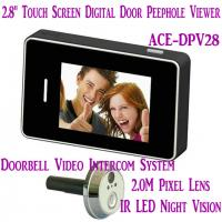 "Wholesale 2.8"" LCD Screen Digital Peephole Viewer Doorbell Video Camera Recorder Access Control DVR from china suppliers"