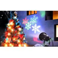 IP44 Waterproof Christmas Outdoor Snow Snowflake Pattern LED Projector Laser Light for Garden Yard Manufactures