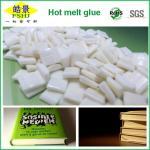 Buy cheap EVA Milk White Hot Melt Pellets Quick Drying Hot Melt Glue For Bookbinding Application from wholesalers
