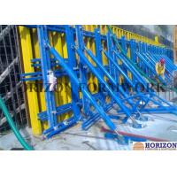 Buy cheap Solid Structure Single Sided Wall Formwork Vertical Waling With Push Pull Braces from wholesalers