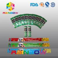Buy cheap FDA Certificated Shrink Wrap Sleeves For Battery ,  Shrink Labels For Bottles from wholesalers