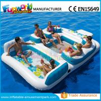 Wholesale Waterproof Flame Retardant Inflatable Boat Toys Floating Water Sofa For Adults from china suppliers