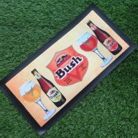 Wholesale custom logo eco-friendly Bar mats for beer bars from china suppliers