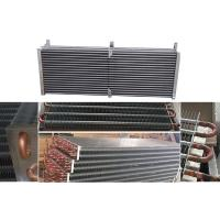 Buy cheap Copper Tube Fin And Tube Heat Exchanger Air Conditioner Evaporator Support from wholesalers