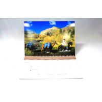 Buy cheap Art Paper Colourful calendar printing services For Hanging Wall from wholesalers