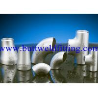 Buy cheap UNS 6601 UNS 6625 UNS 10276 Butt Weld Fittings Weldable Elbows , Reducing Tee from wholesalers