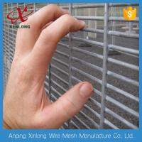 Buy cheap Dark Green 358 Welded Wire Mesh Panels , Iron Wire Garden Fencing from wholesalers
