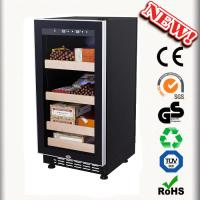Buy cheap 88L Mini Wooden Cigar Humidor Made In China Cigar Cabinets from wholesalers