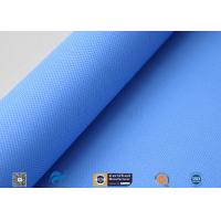 Buy cheap 3732 Blue Silicone Coated Fiberglass Fabric Plain Weave High Temperature from wholesalers