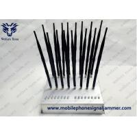 Buy cheap New Type 18 Antennas Full Bands Adjustable  Powerful GPS WIFI5.8G 3G 4G All Cell Phone Signal Jammer from wholesalers