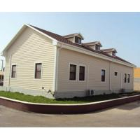 Buy cheap Customized Steel Structure Movable Prefab House , Sandwich Panel Container House from wholesalers