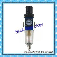 Wholesale GFR200-06 GF200-08 GF300-15 airtac valve Air source Port size PT1/8 FRL from china suppliers