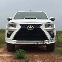 Buy cheap Toyota Hilux Revo Rocco Auto Front Bumper Face Body Kits Upgrade To Lexus 570 from wholesalers