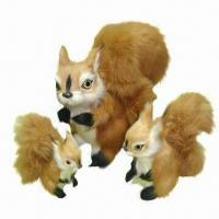 Wholesale Handmade Stuff Toy, Suitable for Gift, Made of Leather Fur from china suppliers