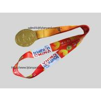Buy cheap Medal Holder Neck Straps, Dyes Sublimation Medal Lanyards from wholesalers