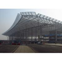 Buy cheap Low Carbon Truss Steel Building Structures For Airport Project And Railway Statio from wholesalers