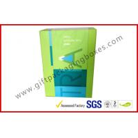 China Custom Beauty Cosmetic Packaging Boxes , Pantone Color Printing with UV Coating on sale