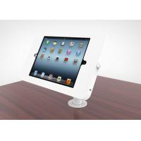 Buy cheap Adjustable Goose Neck Ipad Kiosk Stand Metal Desk Mounted Enclosure Powder product