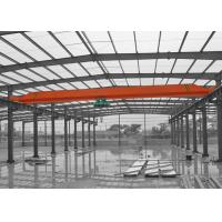 Buy cheap A3 - A5 Single Girder Crane With Wire Rope Electric Hoist And Remote Control from wholesalers
