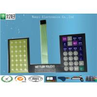 Buy cheap Round Key FPC Membrane Switch , Push Button FPC Membrane Switch For Electronic Scale product