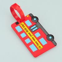 Wholesale 3D car Soft Pvc Luggage tag from china suppliers