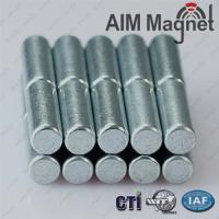 Buy cheap 4mm x 10mm - Cylinder neodymium Magnets from wholesalers