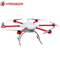 Buy cheap YD6 1600M hexacopter drone long rang flight time heavy left mount gimbal zoom camera for inspection security from wholesalers