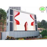 Buy cheap Waterproof SMD RGB LED Display , Exterior multi color Giant LED Screen from wholesalers