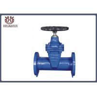 DIN3352  F5 resilient seated gate valve DN50-DN300 with black handwheel