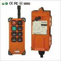 Buy cheap 8 Single channels wireless remote control for hoist ,high quality crane remote controls F21-E1B from wholesalers