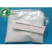 Buy cheap Anti Estrogen Anastrozole Arimidex For Treatment Breast Cancer CAS 120511-73-1 from wholesalers
