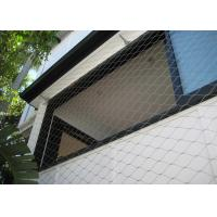 Buy cheap Multifunctional Balustrade Wire Mesh , Ferrule Wire Rope Mesh For Green Wall from wholesalers