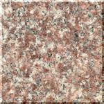 Buy cheap G687 Peach Red Granite Vanity Tops with undermount Sink , stone granite countertops from wholesalers