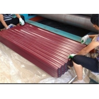 Buy cheap Industrial Buildings 26 Gauge Corrugated Metal Roofing Thin Corrugated Metal Sheets from wholesalers