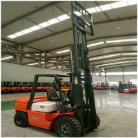 Buy cheap 3 Ton Diesel Forklift Truck FD30 Engine Powered With 1070mm Fork Length from wholesalers