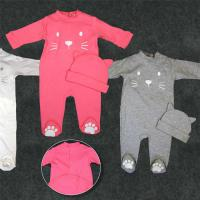 Buy cheap Fancy Cute Pajama Pure Cotton Baby Clothes 0 - 24months Foot For Home Use from wholesalers
