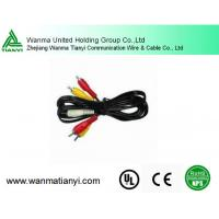 Buy cheap High quality 2 male RCA to 1 female cable y splitter phono cable for japan av video from wholesalers