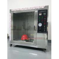 Safety Helmet Flammability Test Chamber For Hard Hat Manufacturers IS0 3873