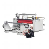 Double Shafts Rewinding Slitting Die Cutting Machine For Bopp Tape , PE , Copper Foil Manufactures