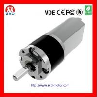 Buy cheap 22mm dc planet gear motor 12V 24V from wholesalers