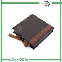 Wholesale Special Chocolate Packaging Boxes Ribbon Magnetic Personalised Chocolate Boxes from china suppliers