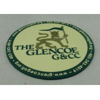 Buy cheap Promotional 2D PVC Coaster , Custom Plastic Luggage Tag For Business from wholesalers