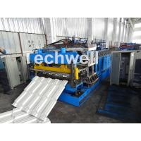 Wholesale 7.5KW Metal Tile Roll Forming Machine For Color Steel / Galvanized Coil from china suppliers