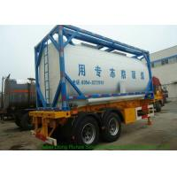 Buy cheap High Strength ISO Tank Container For Ethylene Glycol , ISO Bulk Liquid Container from wholesalers